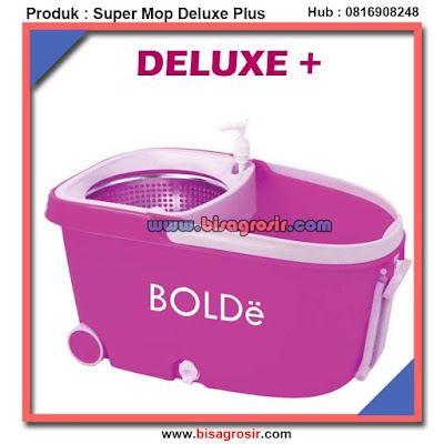 Alat Pengepel Tanpa Kotor Super Mop Deluxe Plus