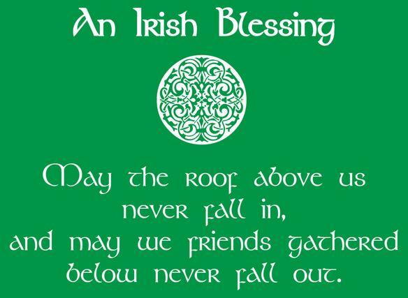 St Patrick's 2017 Facebook status