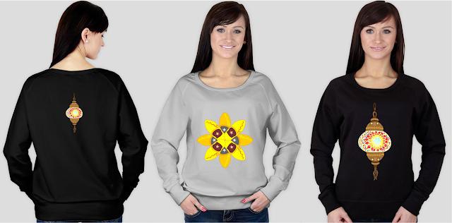 Bluzy z marokańskimi grafikami - 11 pomysłów na marokański prezent na Mikołaja lub pod choinkę