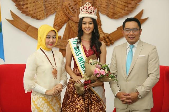 Wali Kota Bandung Sambut Gembira Miss International Kevin Liliana