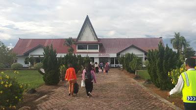 Tiba di Bandara Putussibau