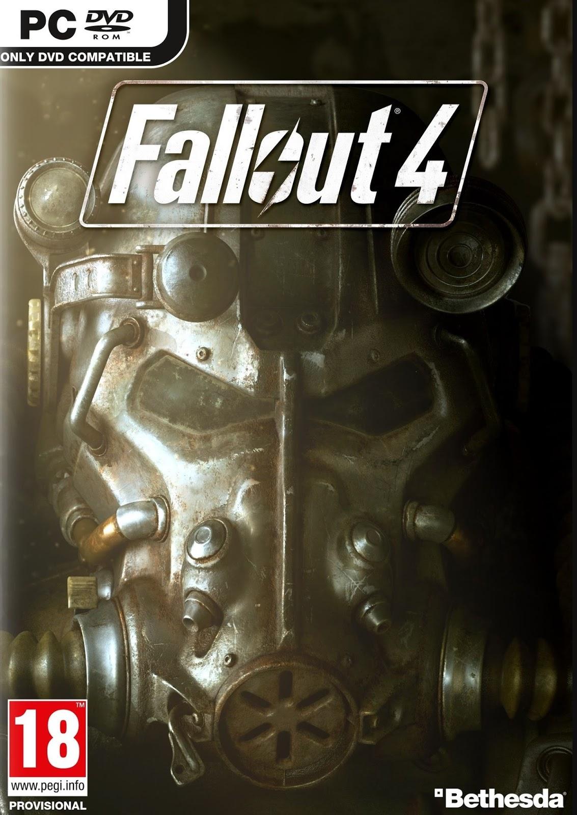 Fallout 4 ESPAÑOL PC Full Cover Caratula