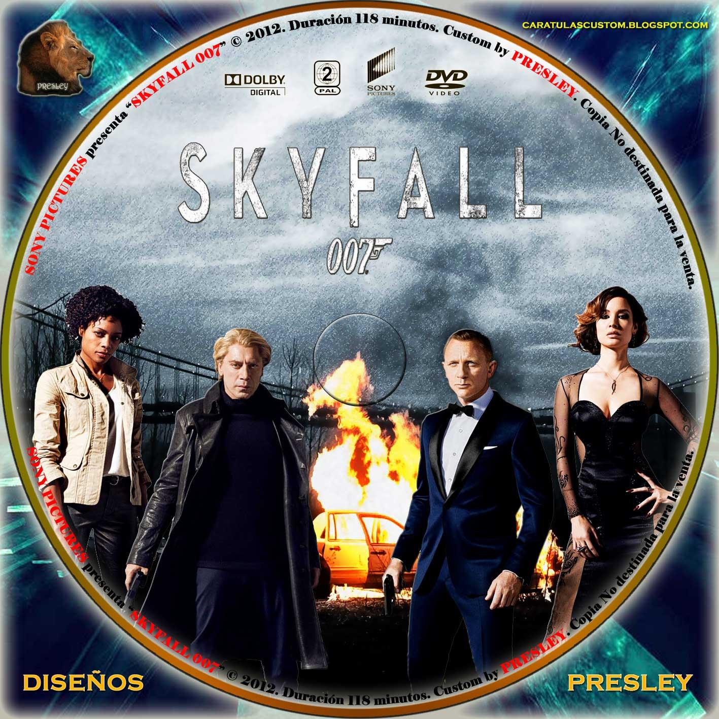 Skyfall - wikipe...007 Skyfall Dvd Cover