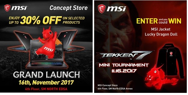 MSI Gaming PH New Concept Store