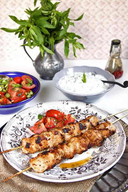 Turecki szaszłyk - sis tavuk