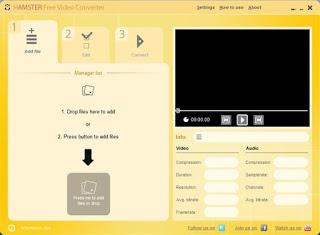 تنزيل برنامج تحويل الفيديو الى صوت Hamster Video Converter