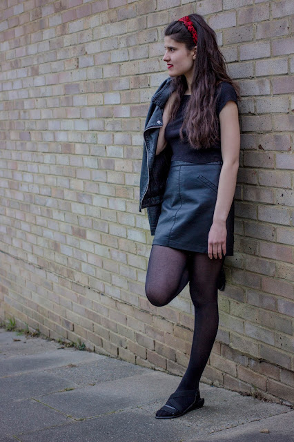 50s Fashion II - The Grease Leather Look