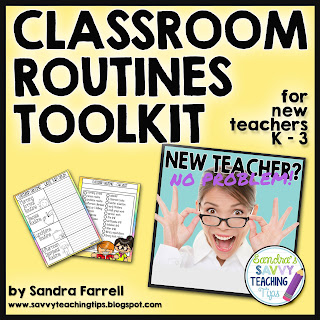 Classroom Routines can be so confusing to remember.  This toolkit is perfect for setting up and making sure you remember everything for back to school