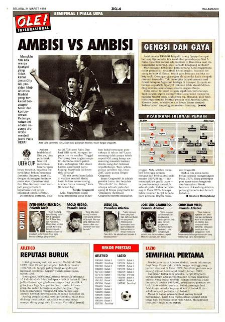 SEMIFINAL I PIALA UEFA 1998