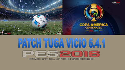 PES 2016 Patch Tuga Vicio Update 6.4.1