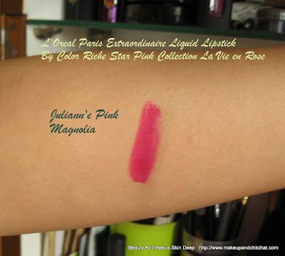 L'Oreal Paris Extraordinaire Liquid Lipstick  Magnolia