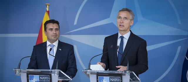 Αύριο τα Σκόπια υπογράφουν το πρωτόκολλο προσχώρησης στο ΝΑΤΟ