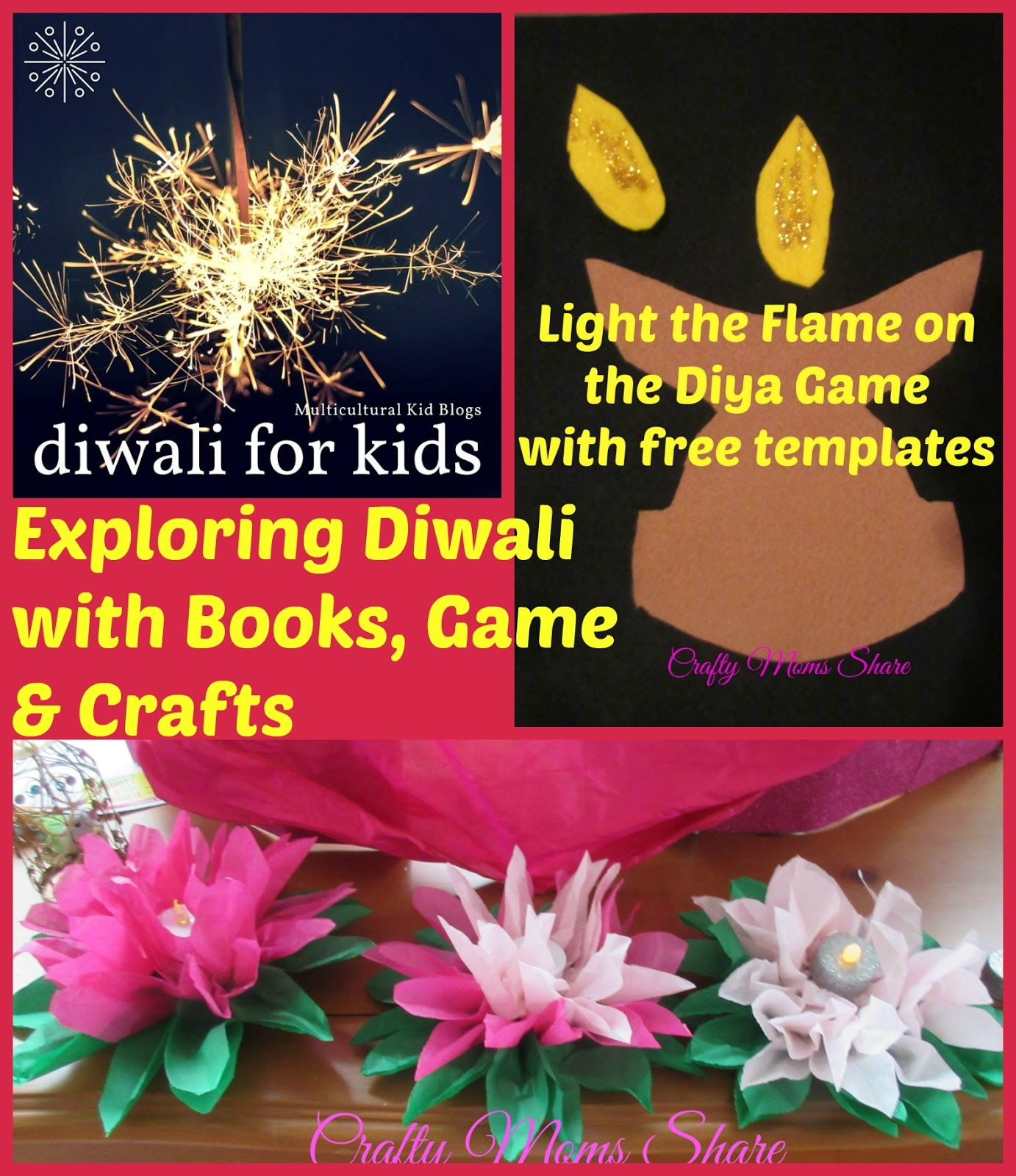 Crafty Moms Share: Exploring Diwali with Books, Game & Craft -- Free ...