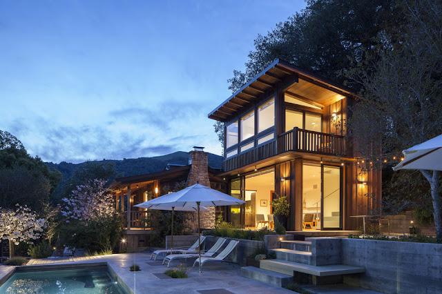 แบบบ้านไม้สองชั้นขนาดเล็ก
