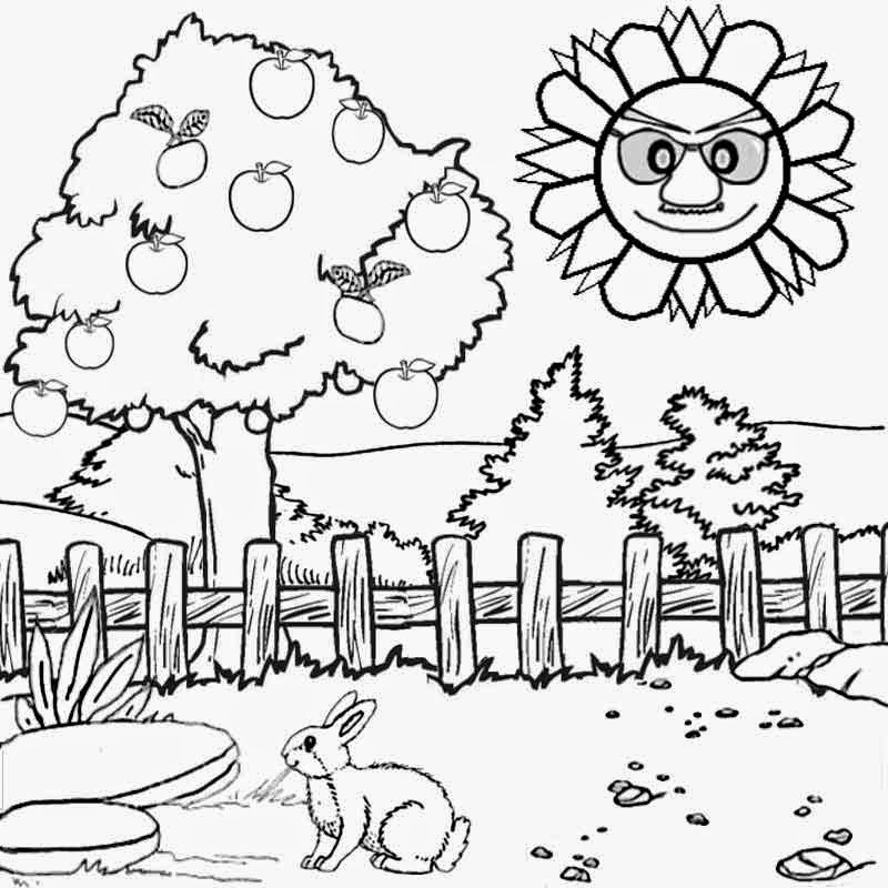Summer Solstice Coloring Pages Coloring Pages