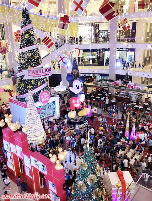 Disney Mickey 90th Anniversary, Disney, Mickey Mouse, Dream Christmas, Pavilion KL, Mickey Mouse 90th Anniversary, christmas 2018, shopping mall christmas decor, shopping mall decor, malaysia shopping mall,
