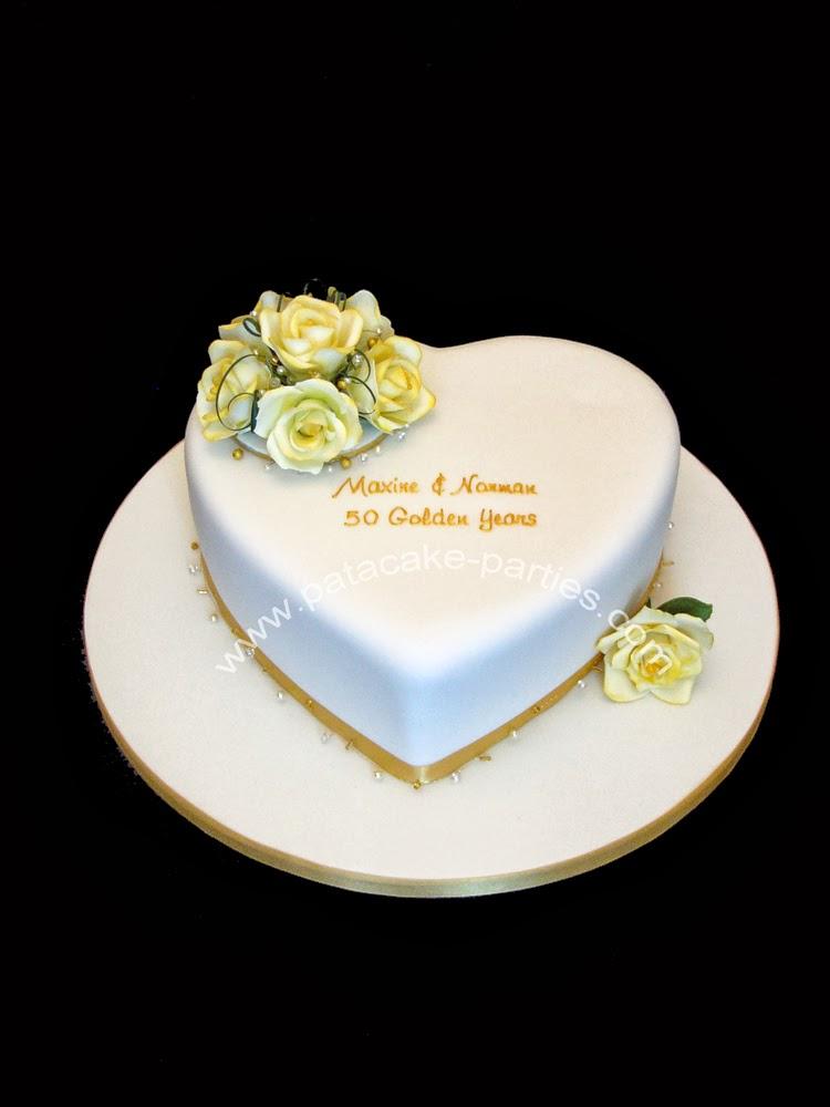 Pat A Cake Parties Golden Wedding Anniversary