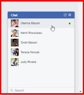 facebook chat online