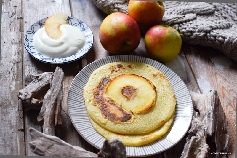 zuckerfreie bratapfel pfannkuchen mit stevia ein schnelles rezept die edelfabrik der 40. Black Bedroom Furniture Sets. Home Design Ideas
