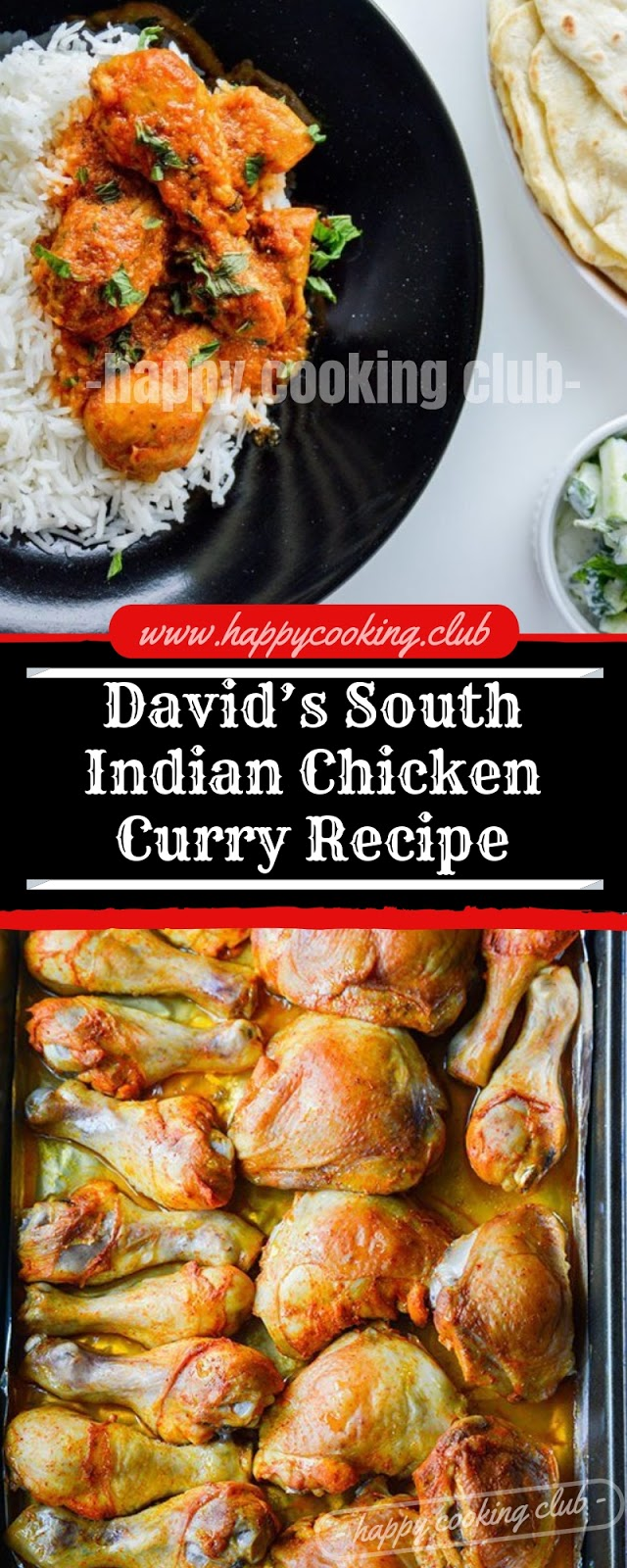 David's South Indian Chicken Curry Recipe