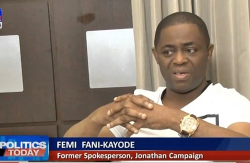 I Got Only N800m, a 10% of My Demand in Campaigning for GEJ - Fani-Kayode Opens Up