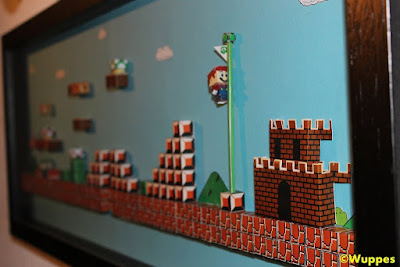 3D Diorama game keren NES dan PS untuk Hiasan !!
