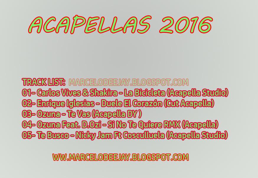 studio acapellas 2016