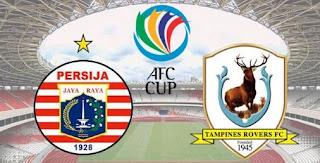Simic Hat-trick, Persija Hajar Tampines Rovers 4-1 AFC Cup