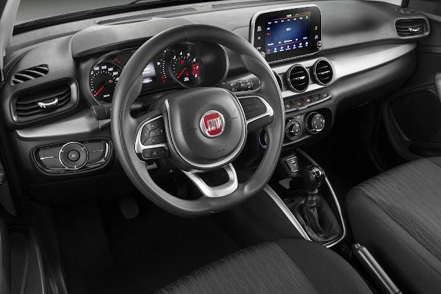 Fiat Argo Drive 1.3 MT - interior