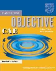Cambridge Objective CAE Student's Book