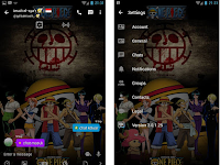 BBM MOD One Piece v3.0.1.25 Apk Gratis Download Terbaru 2016