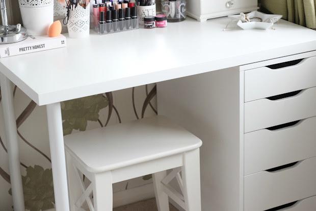 Diy Ikea Vanity & Makeup Storage ' Kt