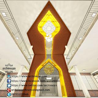 Renovasi Eksterior Dan Mihrab Masjid - Animasi Bagian Dalam Masjid