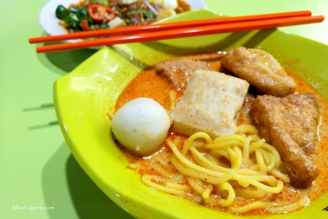 Yong Tau Foo Laksa Singapore