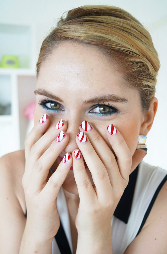 Candycane Nails