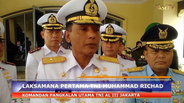 Sertijab Danlanal Bandung