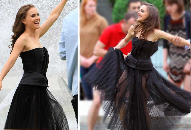 Vestido preto Comercial Miss Dior