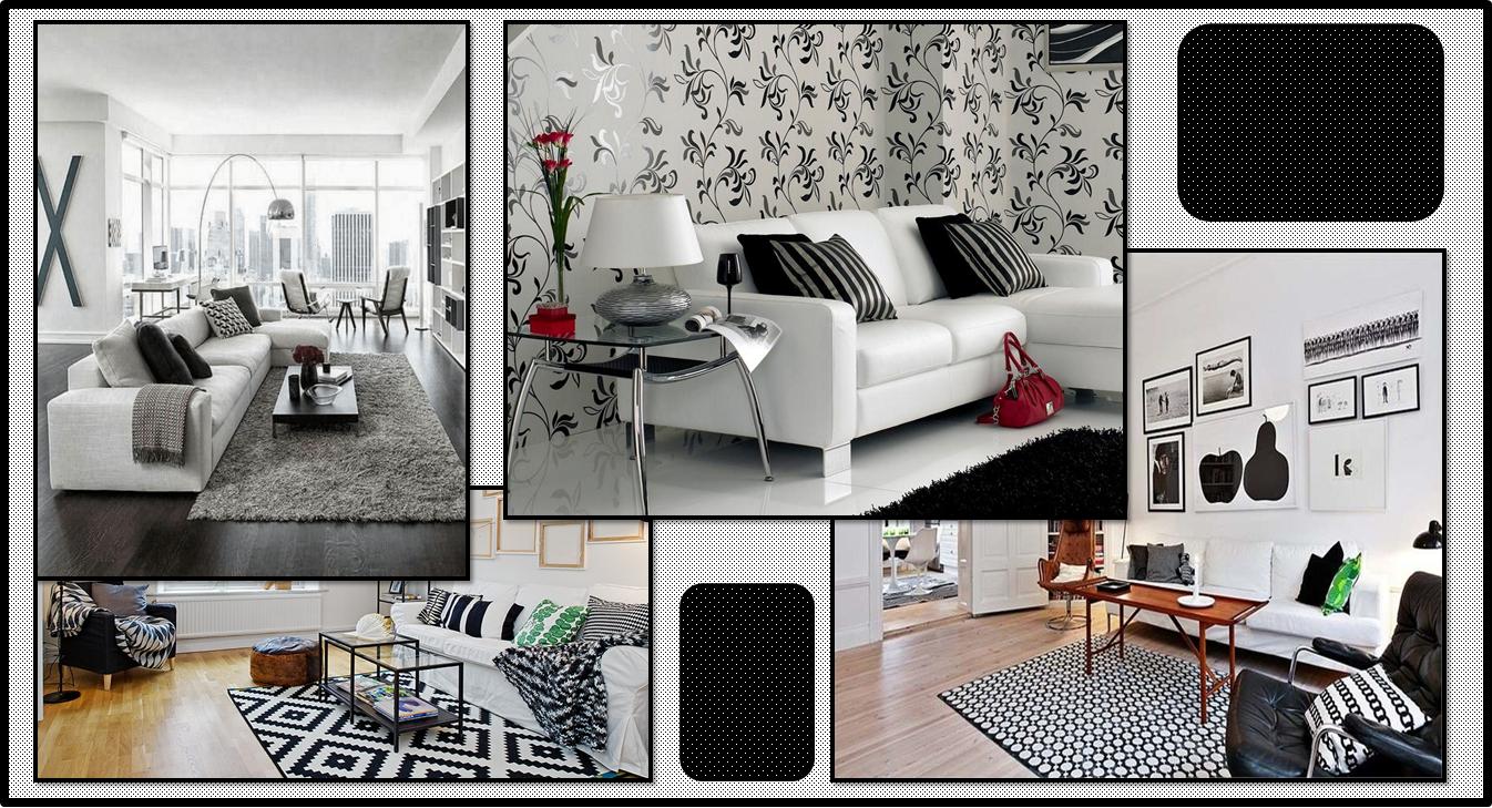Divani Bianchi E Neri : Stili per un soggiorno gena design