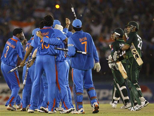 World Cup 2011: India beat Pakistan by 29 runs