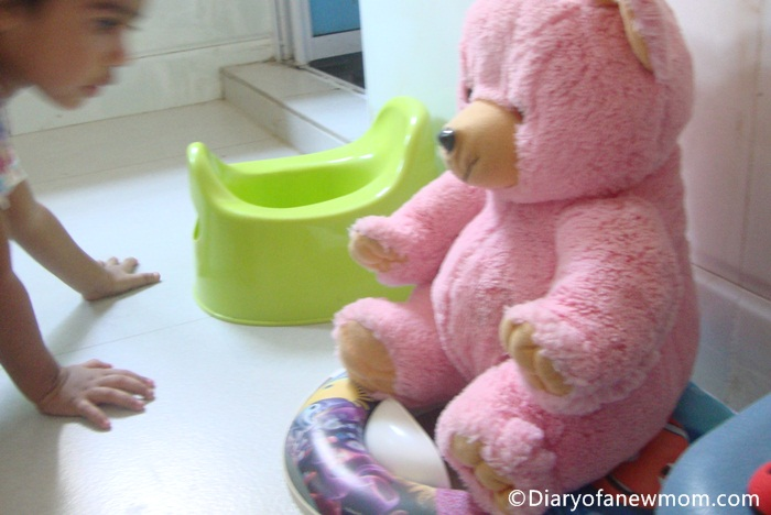 Potty training with fun