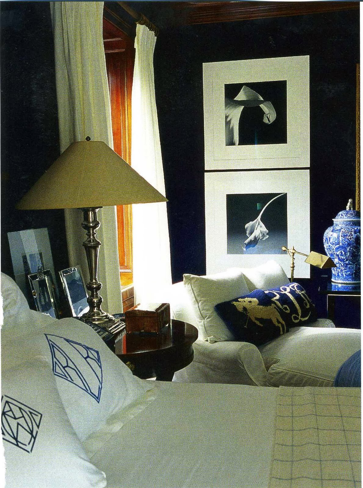 Decor Inspiration  at home with Ralph Lauren New York  Cool Chic Style Fashion