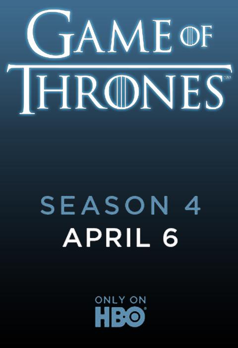 Teaser Poster Urzeala Tronurilor Sezonul 4