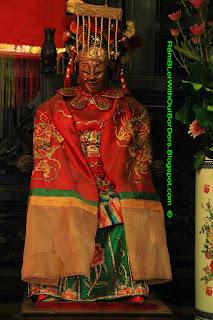 Figurine of Tin Hau, Tin Hau Temple, Aberdeen, Hong Kong