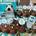 Porg Cupcake Toppers - Birthday, Graduation, Baby Shower, or May The Porgth 4th