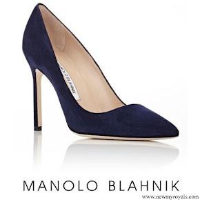 Meghan Markle wore MANOLO BLAHNIK BB Pumps