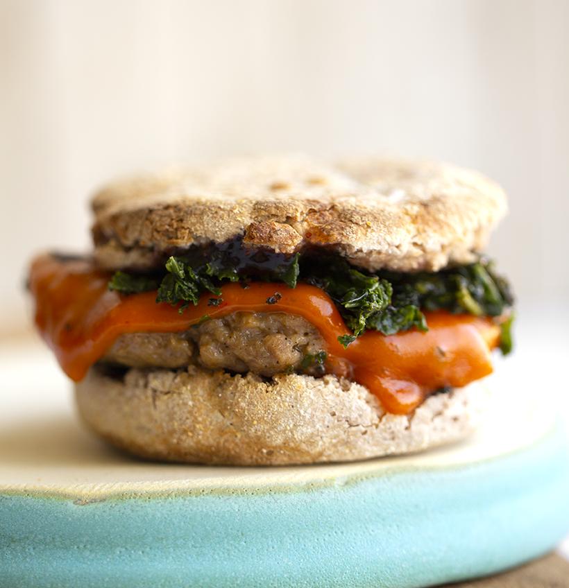 breakfast sandwich vegan