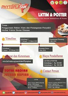 Lomba Desain Poster Nasional 2018 di Univeritas Tanjungpura