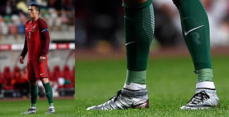 Cristiano Ronaldo Debuts Modified Nike Mercurial Superfly Quinhentos Boots b904ed4f792d3