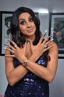Sanjana looks happy in sparkling short Deep neck Purple Gown ~  Exclusive 50.JPG