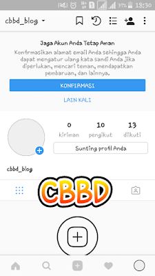 Cara melihat password ig